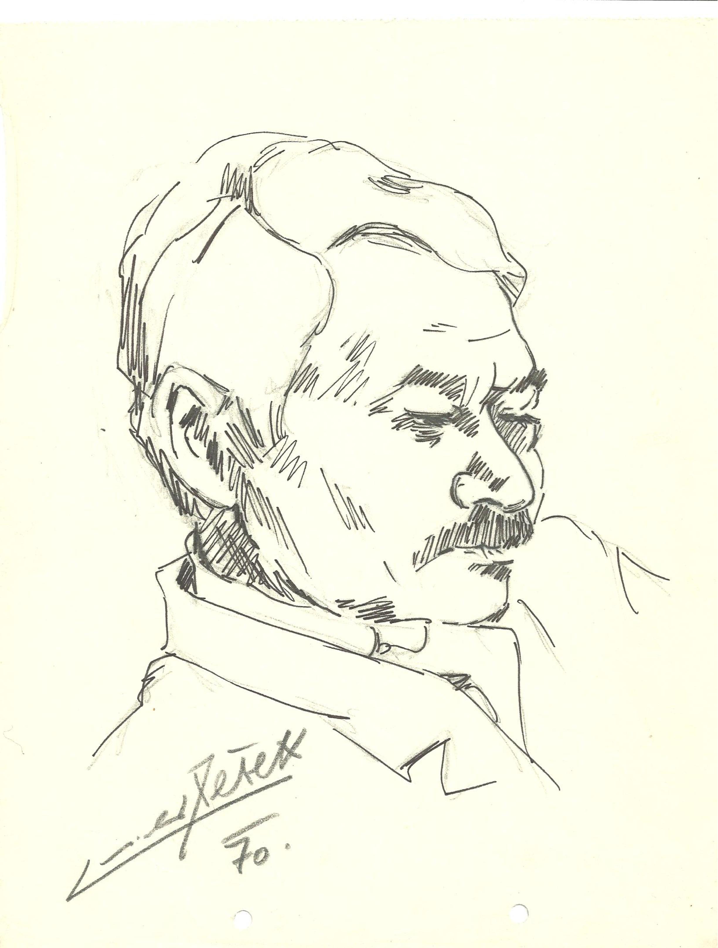 Herec Ladislav Pešek