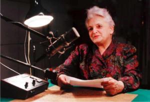 Spisovatelka paní Marie Kubátová