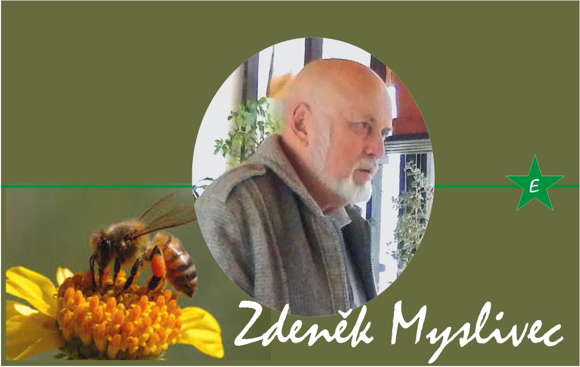Včelař, esperantista a autor plakety MUDr. Josefa Hradila na penzionu ESPERO.